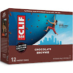 CLIF Bar Chocolate Brownie Energy Bars - 12ct