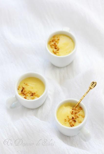 cr u00e8mes au lait d u0026 39 amandes et amaretto