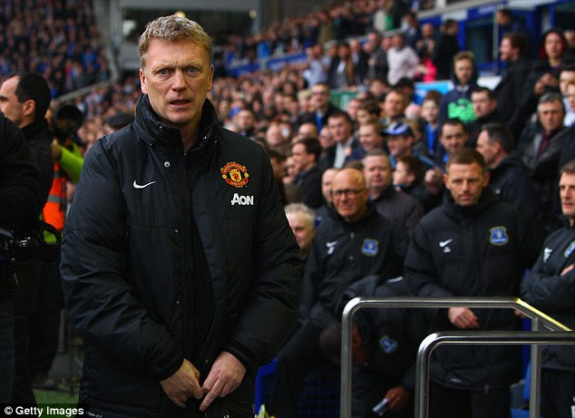 Out: David Moyes had received backing from everywhere at United but it was not enough to keep his job