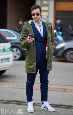 Federico Lapo Bonini, Photographed in Milan<br/> Click Photo To See More