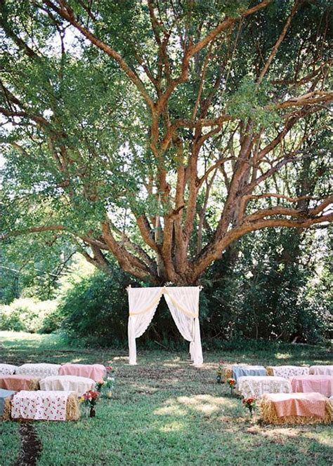 Wedding, Hay bale seating and Unique on Pinterest