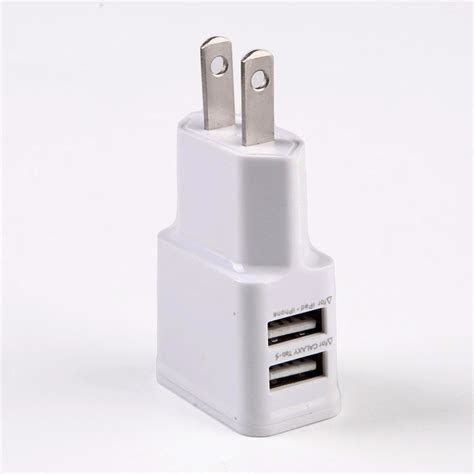 usukeu plug wallcar charger adapter   dual usb