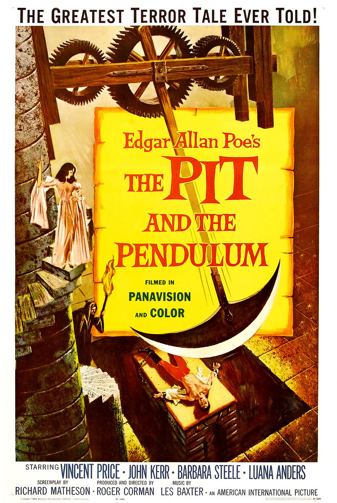 Reynold Brown - The Pit and the Pendulum (American International, 1961)