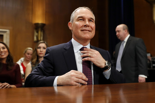 Emails Reveal EPA Chief Scott Pruitt's Dirty Dealings With Oil and Gas Industry
