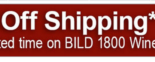 Save 50% on Shipping of BILD 1800 Wine Cabinets through April 18, 2014