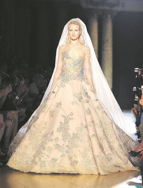 Couture Dress Designers   haute couture wedding gown by