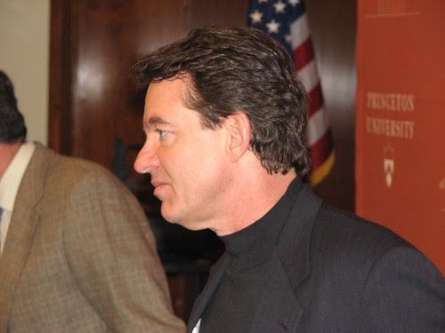 Lawrence Wright at Princeton University, April, 2007 -- TigerHawk exclusive