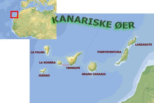 de kanariske øer kort De Kanariske øEr Kort   Kort 2019