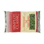 Simplot Regular Cut Green Beans - 32 oz. package, 12 packages per case