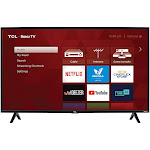 TCL 40 Inch LED 3-Series Roku Smart HD TV (40S325)