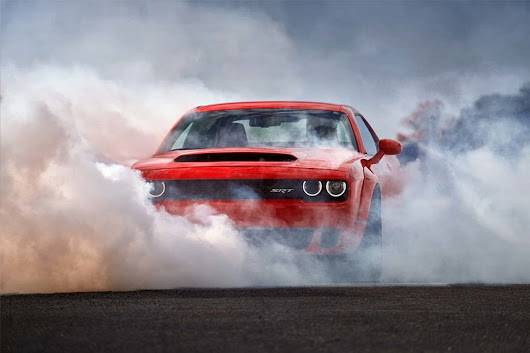 The new Dodge Demon is street legal and goes from 0-60 in 2.3 seconds
