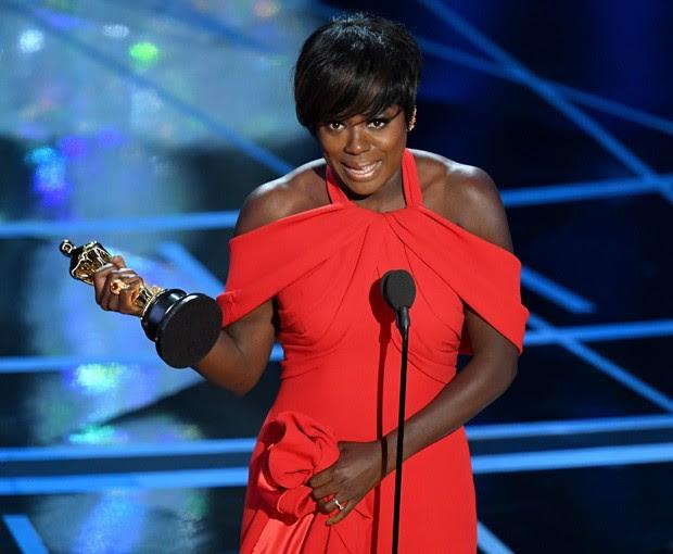 Viola Davis levou scar de Melhor Atriz Coadjuvante (Foto: Getty Images)