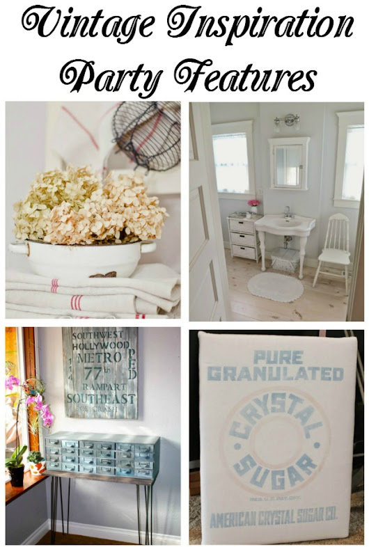 White Decorating at the Vintage Inspiration Party - Songbird