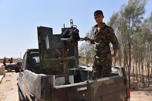 Retreating ISIS Left 'Thousands' of Mines in Syrian City of Hasakah: Kurds - NBC News