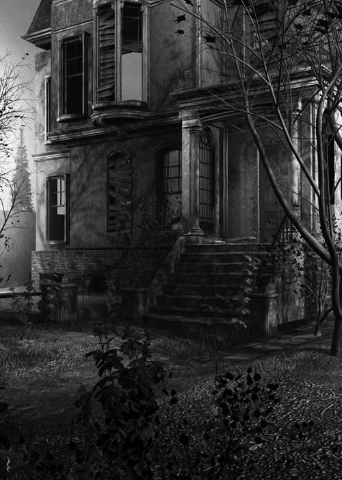 darkestdee:  THE HAUNTED HOUSE.