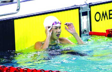 Young swimmers, ASEAN Schools Games, Nguyen Thi Anh Vien