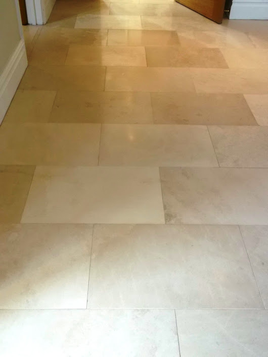 Cleaning and Sealing a Limestone Tiled Floor in Newmarket | Suffolk Tile Doctor