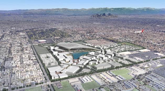 [LA GALLERY] LA Rams Stadium Development in Inglewood