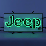 Small Jeep Neon Sign