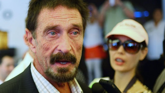 John McAfee settles Intel legal action over name - BBC News