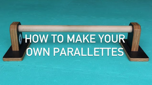 Build Your Own Parallettes for Advanced Upper Body and Ab Exercises at Home