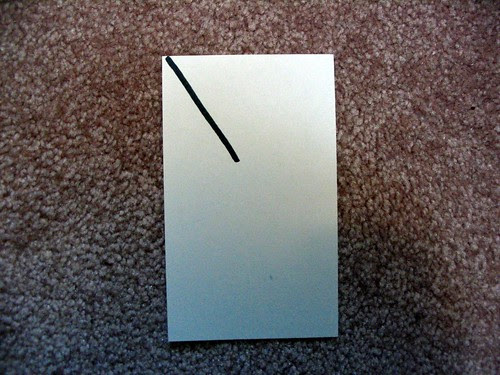 Single-line-resolution bookmark