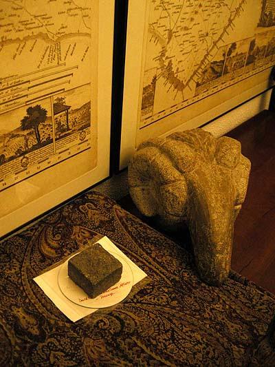 Mallorca, map of Despuig, Punic stone ram head