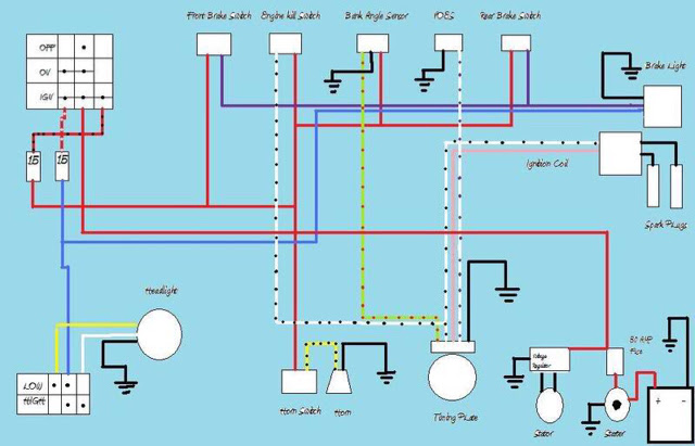 Ultima Motorcycle Wiring Diagram