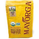 USDA Organic Mayorga Mocha Java, Medium Roast Whole Bean Coffee 5 lb