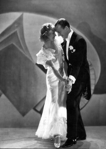 Ginger Rogers and Fred Astaire in Flying Down to Rio, 1933