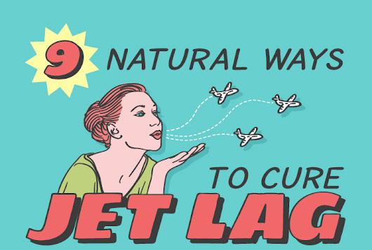 9 natural ways to cure jet lag
