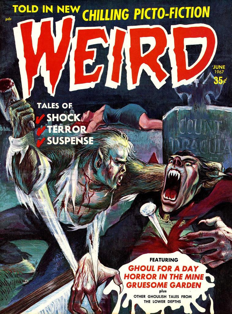 Weird Vol. 02 #3 (Eerie Publications, 1967)