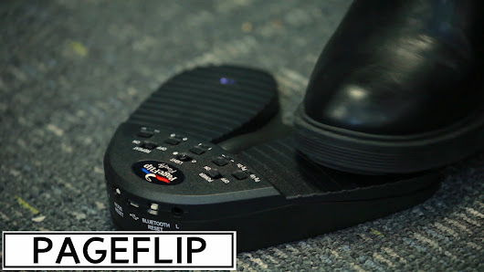 PageFlip - Page-Flipping Bluetooth Pedal | NewsWatch Review
