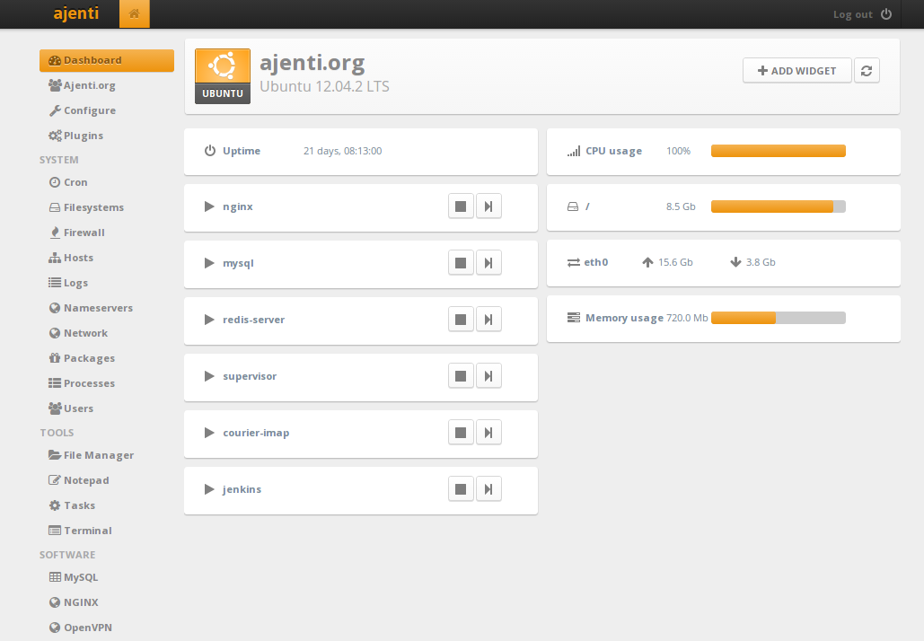 14 Best Open Source Web Hosting Control Panel As Of 2021 Slant