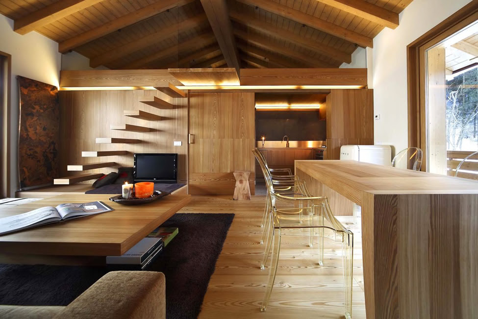 Fabulous Modern Wood Interior Houses 975 x 650 · 151 kB · jpeg