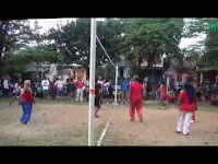 RT 12 Juara I Pertandingan Volly di RW 14 Pondok Bambu Kuning Bojonggede