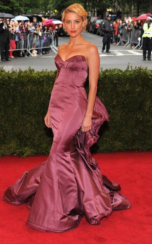 Costume Institute Gala Met Ball - May 7, 2012, Amber Heard