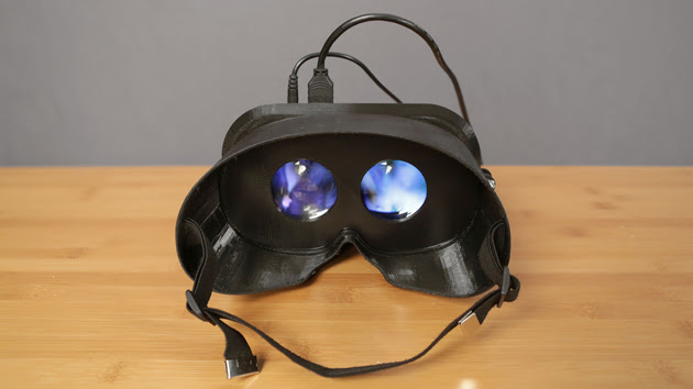 3D-printed video goggles