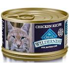 Blue Buffalo Wilderness Grain Free Mature Chicken Recipe Canned Cat Food