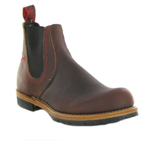 Red Wing 02917 Brown Leather Mens Boots Size 10 UK