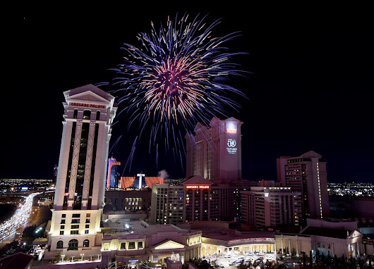 Red Bull & Fireworks at Caesars Palace for July 4th Weekend