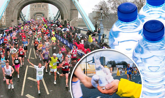 How much water should you drink during a marathon?