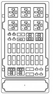 Ford E Series E 150 E150 E 150 1998 2001 Fuse Box Diagram Auto Genius