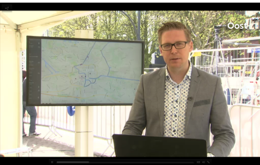 RTV Oost and Pathshare live at the Enschede marathon