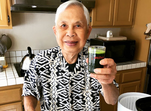 My Dad's Wheatgrass Juicing and Growing Tips - Viet World Kitchen