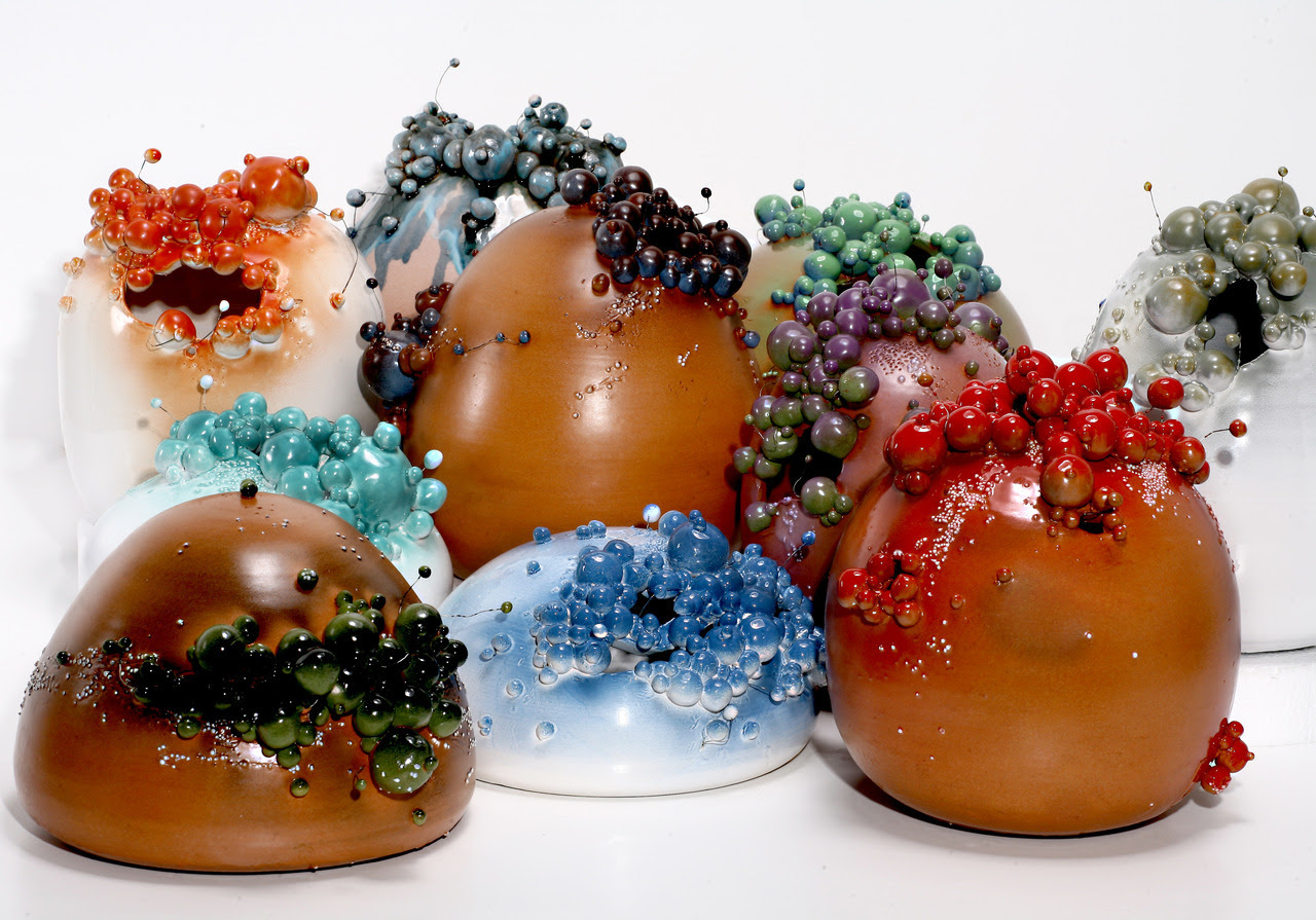 Francesco Ardini: Bacteria Proliferation, 2012 - Featured on Ceramics Now Magazine