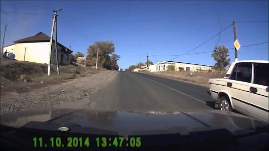 Ukrainian Truck Driver Almost Flies