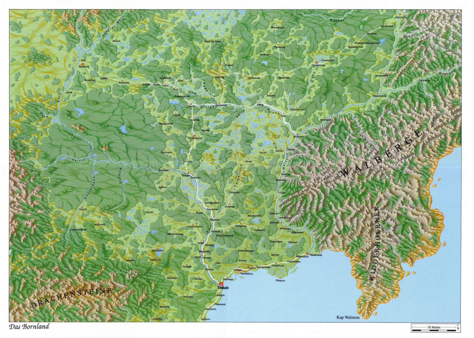 Dsa Karte Bornland.Bornland Karte Karte