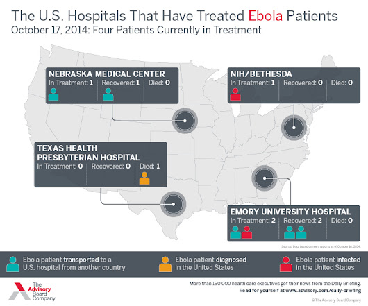 Ebola In America: Where The Ebola Patients Are