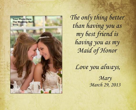 Sisters Wedding Gift Maid Of Honor Gift Matron Of Honor Gift